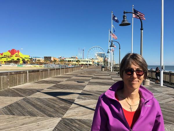 Myrtle Beach boardwalk.