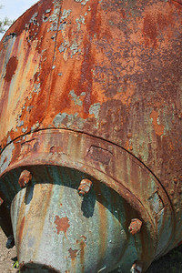 Rust has some interesting colors.