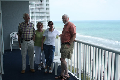Frank, Pam, Jacqui, and Randy at Myrtle Beach.