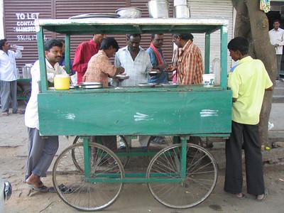 Street Food Stall.
