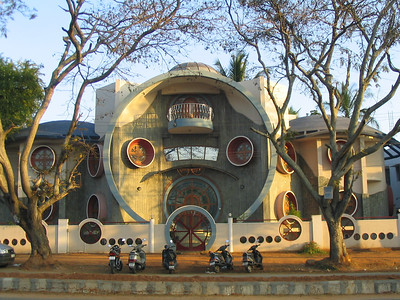 Funky house in Gokulam.