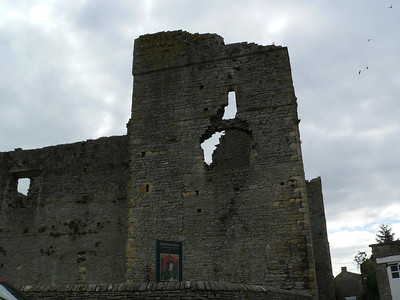 The ruins of Middleham Castle, Middleham, Yorkshire