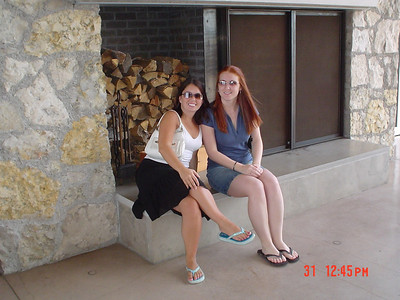 Krista and I at the winery