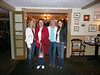 Me, Mom, Aunt Diane, and Sarah at the Seaman's Inn where Mom and Dad had their wedding reception.