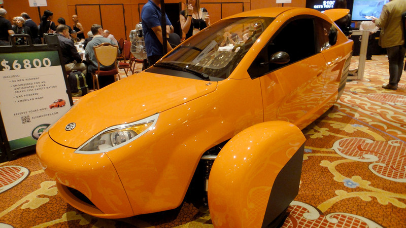 """Try the new car on the market """"ELIO"""" only $6800 and 84 miles to the gallon."""