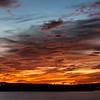 Sunset over Canyon Lake