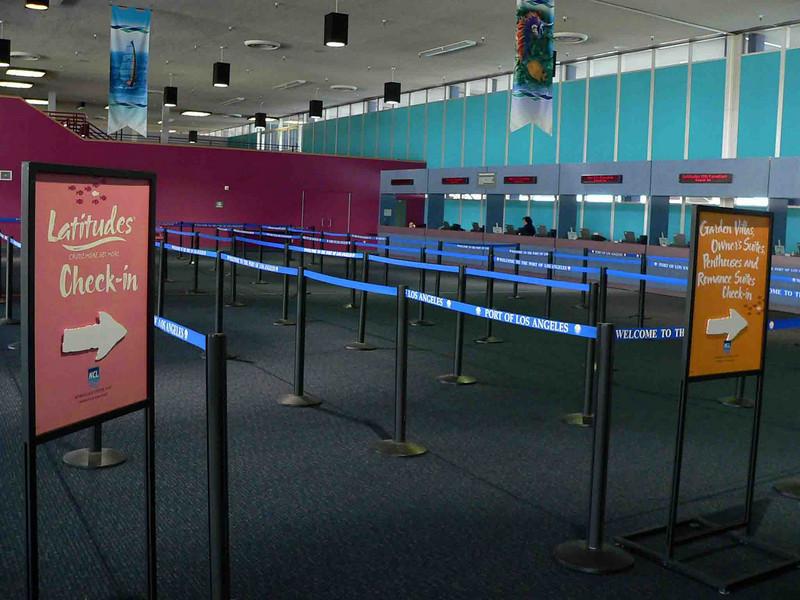 LA (San Pedro) Cruise Terminal