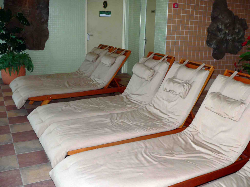 Loungers in the Spa