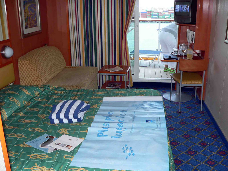 Our cabin on the NCL Star 10730 BA Aft