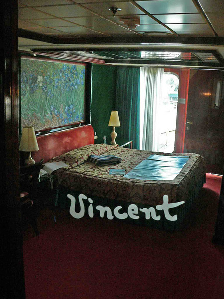 Took a tour of the Van Gogh Suite, 10006 NCL Star. Friends were staying there.
