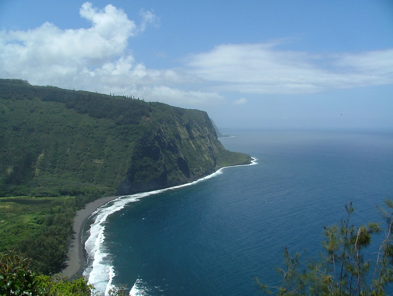 Lookout in Waipio Valley, absolutely stunning on the Big island of Hawaii