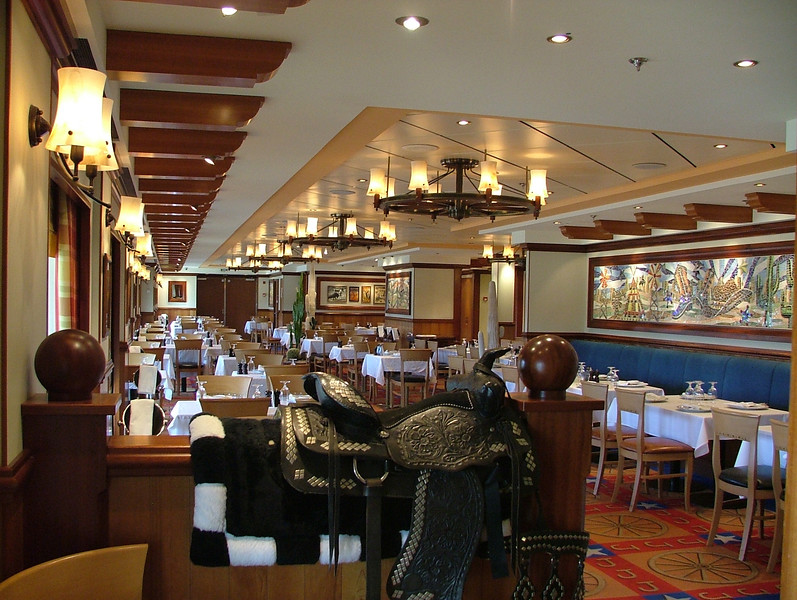 LAZY J'S STEAKHOUSE. JUST FABULOUS, THE STEAKS ARE THE BEST ON ANY CRUISE SHIP I HAVE EXPERIENCED. MAKE RESERVATIONS FOR 8:30PM AND SAVE 50%