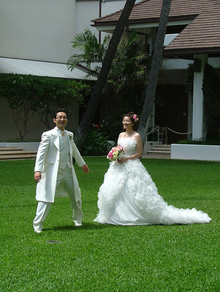 WEDDING AT THE HALEKALNI, GARDEN AREA