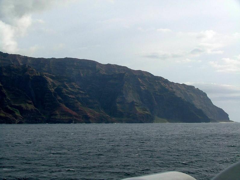 Napali Coastline on Kauai