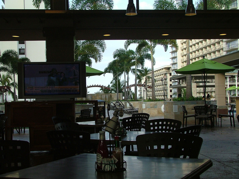 EMBASSY SUITES, WHERE WE ENJOYED OUR COOKED TO ORDER BREAKFAST DAILY.