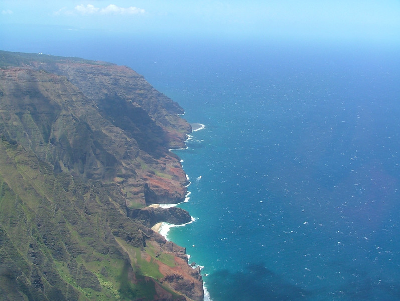 Na Pali Coastline here in Kauai