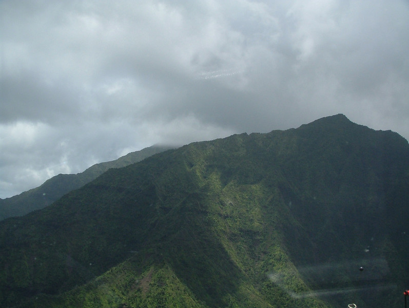 This island gets lots of rain, that is why it is so lush and scenic