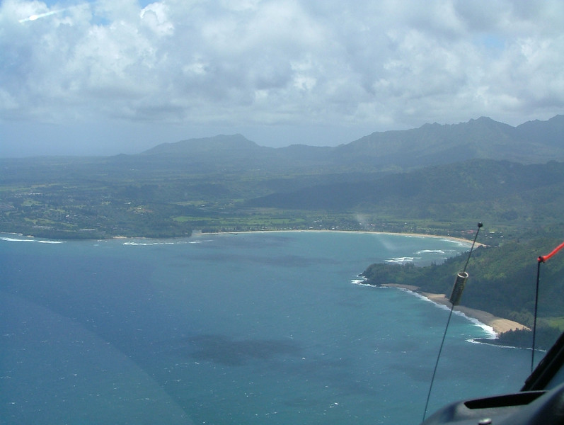 Coming into Hanalei Bay