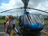 READY TO BOARD THE 7 PASSENGER HELICOPTER FOR OUR TOUR