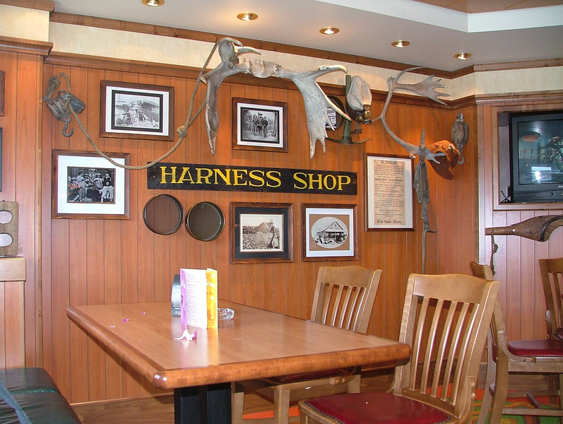 "THE  GOLD RUSH SALOON ABOARD THE NCL ""PRIDE OF AMERICA""<br /> FREE POPCORN IS OFFERED HERE"