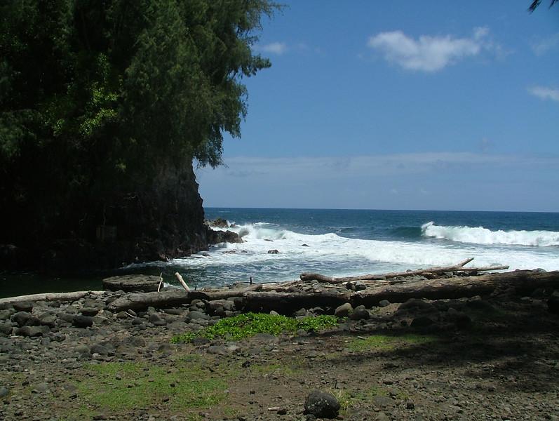 This is KoleKole Beach park on the Big Island near Hilo