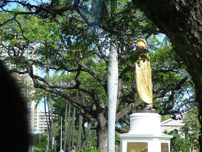 Statue of King Kamahamaha