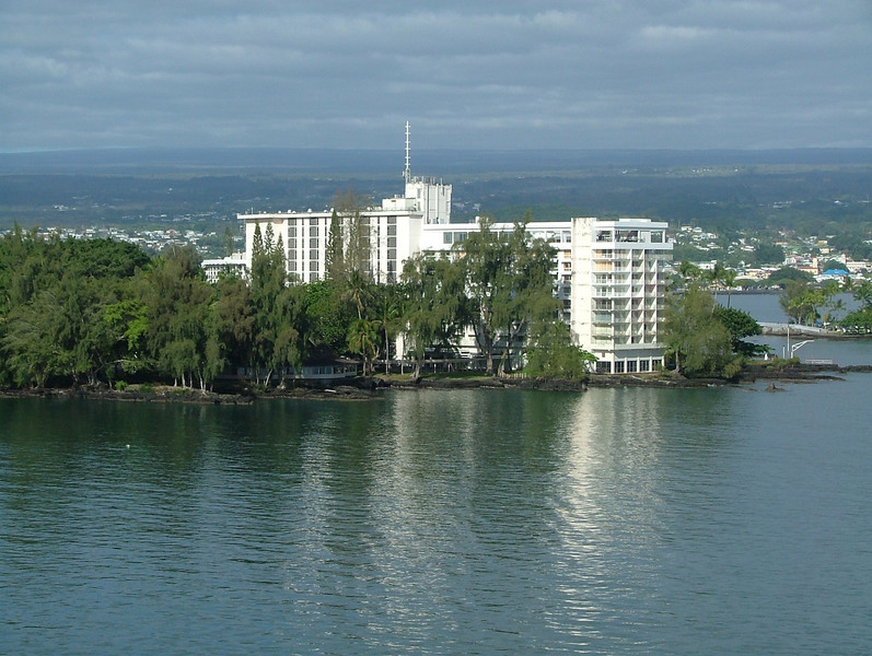 COMING INTO THE PORT OF HILO ON THE BIG ISLAND OF HAWAII