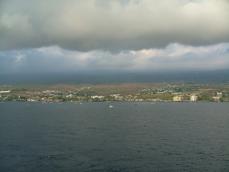 LEAVING KONA HAWAII