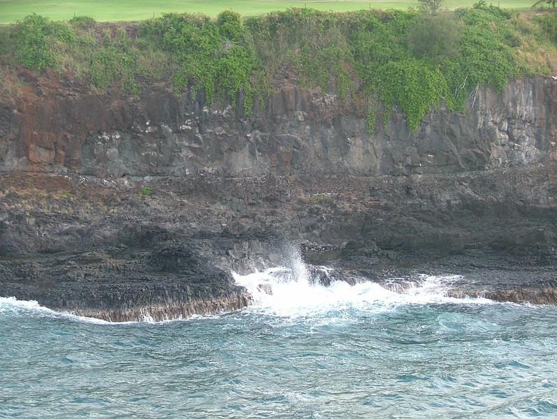 COMING INTO THE PORT OF NAWILIWILI, KAUAI