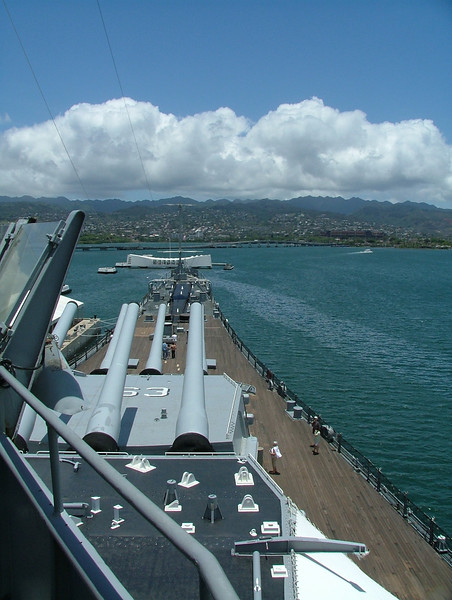 On the USS Missouri