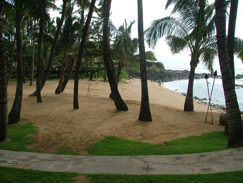 "BEACH IN FRONT OF ""MAMAS FISH HOUSE "" MAUI"