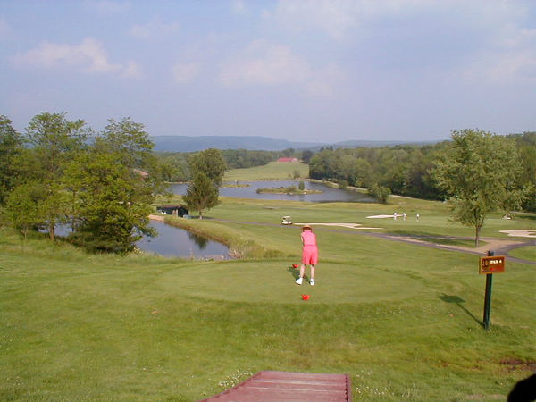 NEMACOLIN WOODLANDS RESORT, LINKS COURSE. LOOK AT THE VIEW!