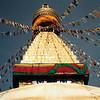 Bodhnath Stupa in 1992.