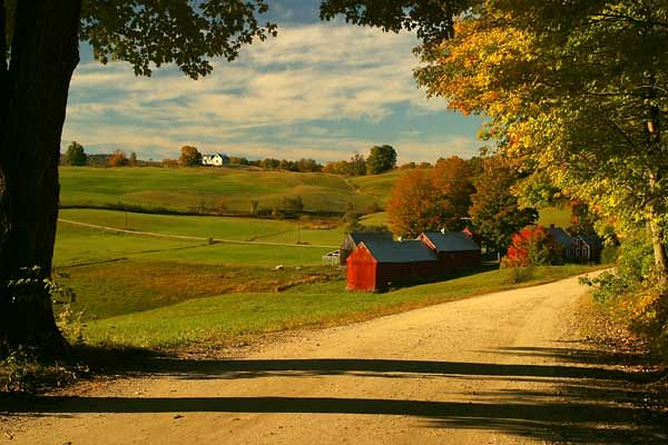 JENNE'S FARM NEAR WOODSTOCK, VT.