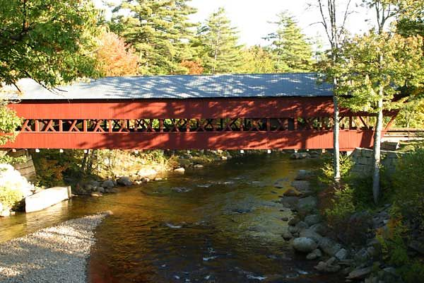 COVERED BRIDGE-CONWAY, NH.