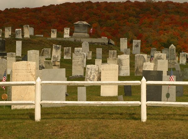ONE OF MANY VERMONT CEMETERIES