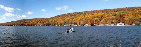 Panoramic Greenwood Lake.  Passaic,NJ