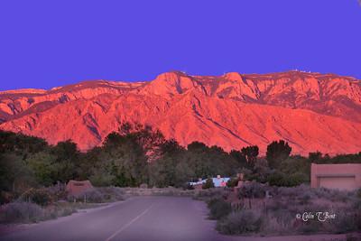 Sandia Hills