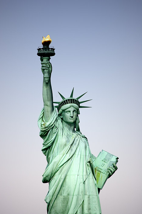 "LADY LIBERTY ""UP-CLOSE"""