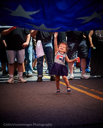 2015 ___Little Lady Liberty, Memorial Day Parade