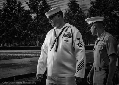 2015 __New York City_Fleet Week, Ground Zero, Memorial Day B&W