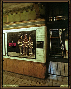 NY Subway Firefighters Sign