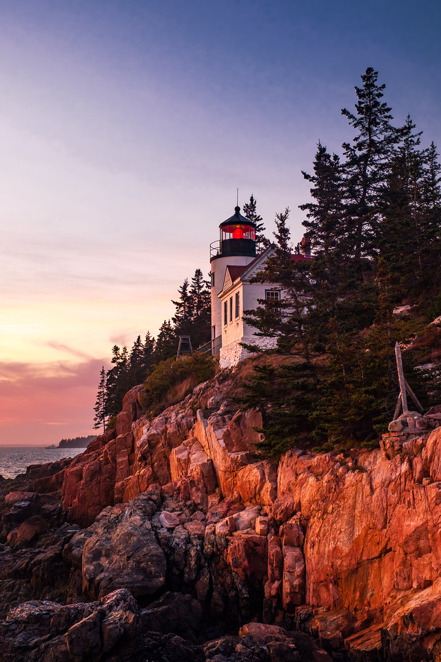 BASS HARBOR HEAD LIGHTHOUSE - ACADIA N.P.