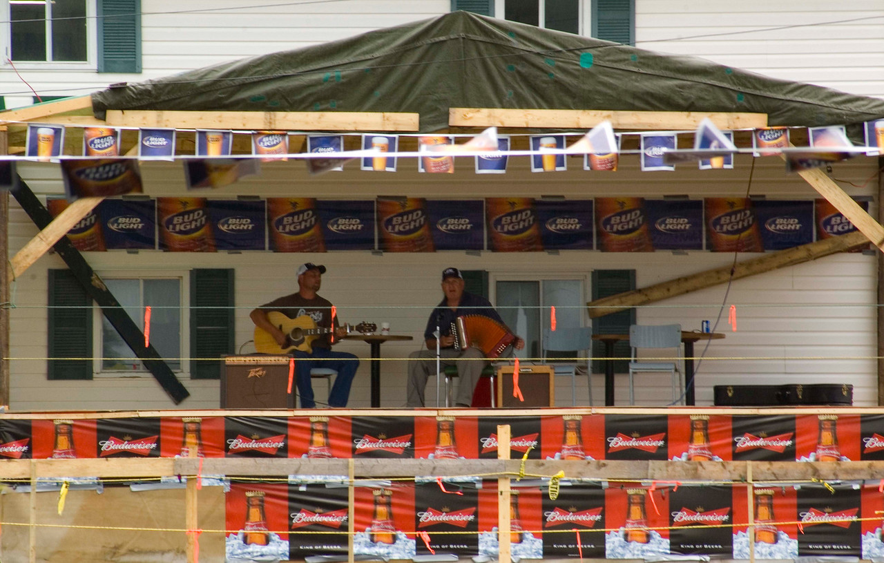 Concert at Lark harbour, check out next photo.
