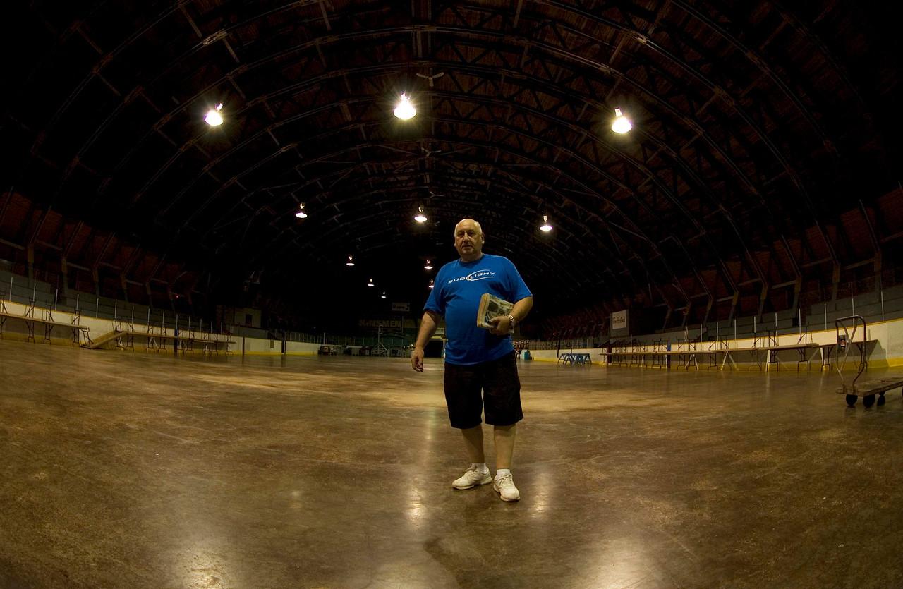 Richard Matthews. Asst. Mngr at North Sydney Hockey Rink.