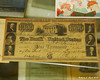 A $1000 bill from Dec 15th 1840 on display at the Historical Society