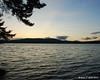 Sunset Monday on the lake