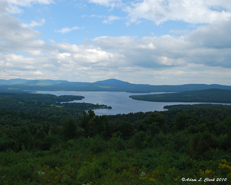 First Connecticut Lake from Prospect Mountain