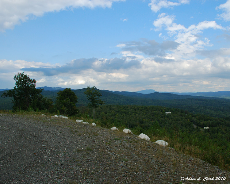 View to the North from Prospect Mountain
