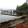 High tide at Cindys on the Damariscotta River
